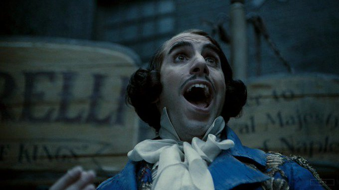 New happy birthday shot What movie is it? 5 min to answer! (3 points) [Sacha Baron Cohen, 46]