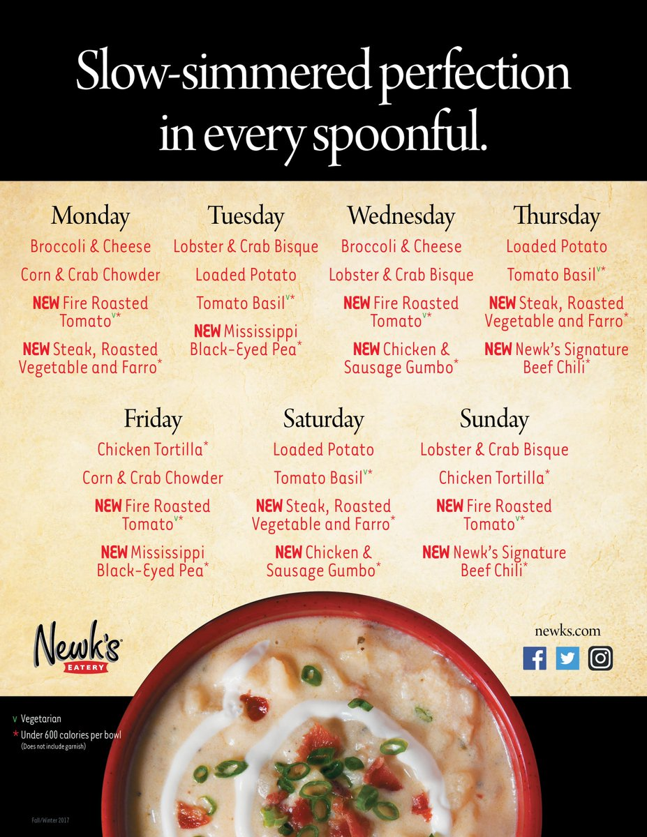 "newk's eatery on twitter: ""new fall soups are here 🍂 🍁… """