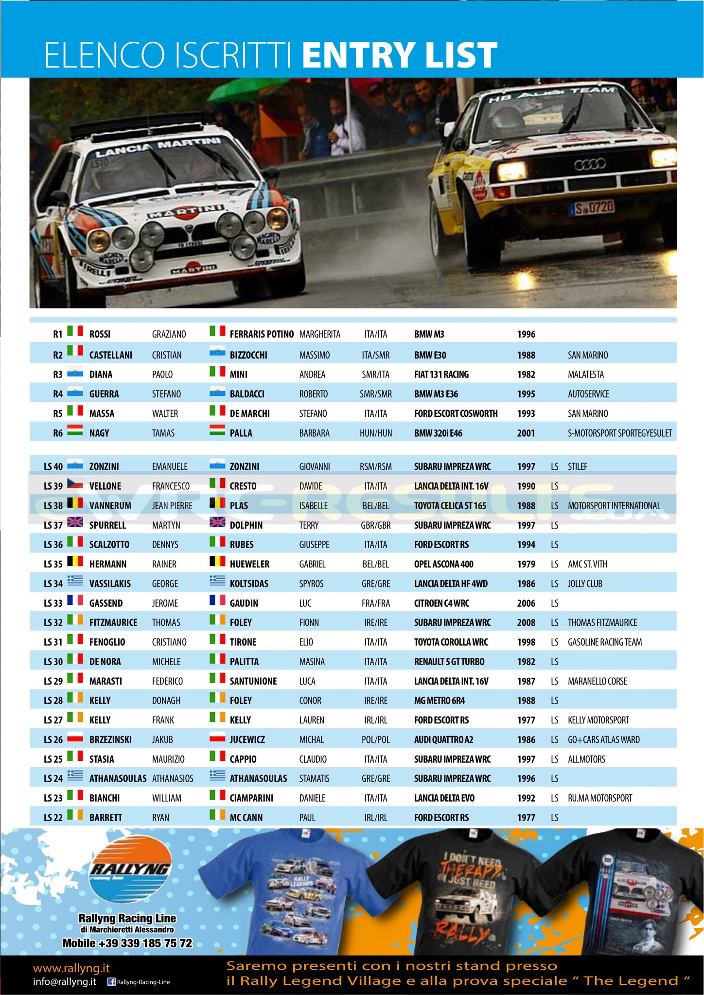 15º RallyLegend Repubblica di San Marino [19-22 Octubre] DMBy8CnXUAAcWLr
