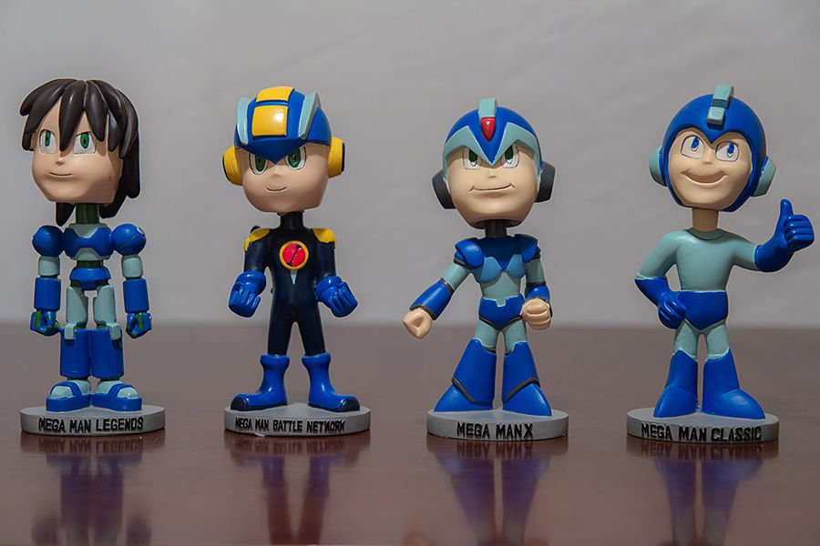 The Four Horsemen of the Apocalypse (Toys R Us exclusive 15th anniversary bobble head collection, 2003) https://t.co/Rvv0i8Z3Bs