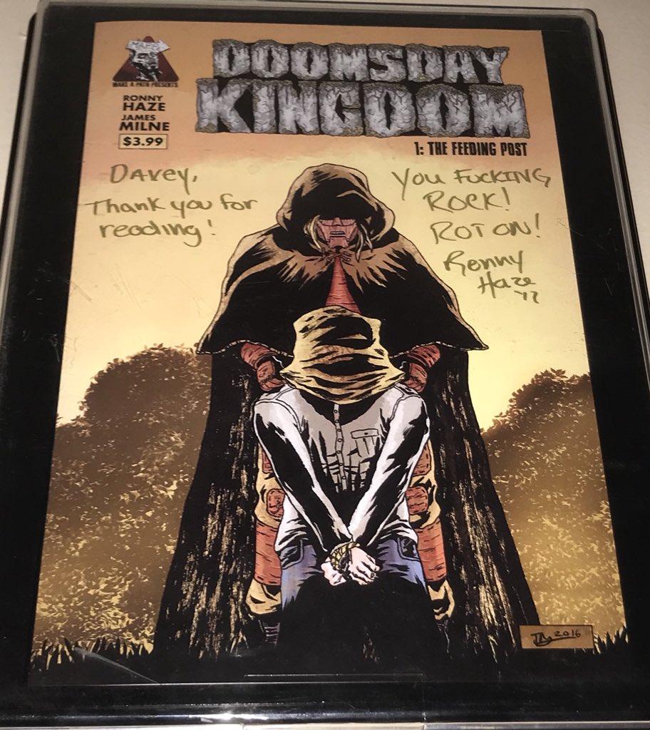 @R0NNYHAZE thanks again brother!!! Already got it framed!!!! #DDK #DoomsdayKingdom<br>http://pic.twitter.com/OBzVw4W9v4