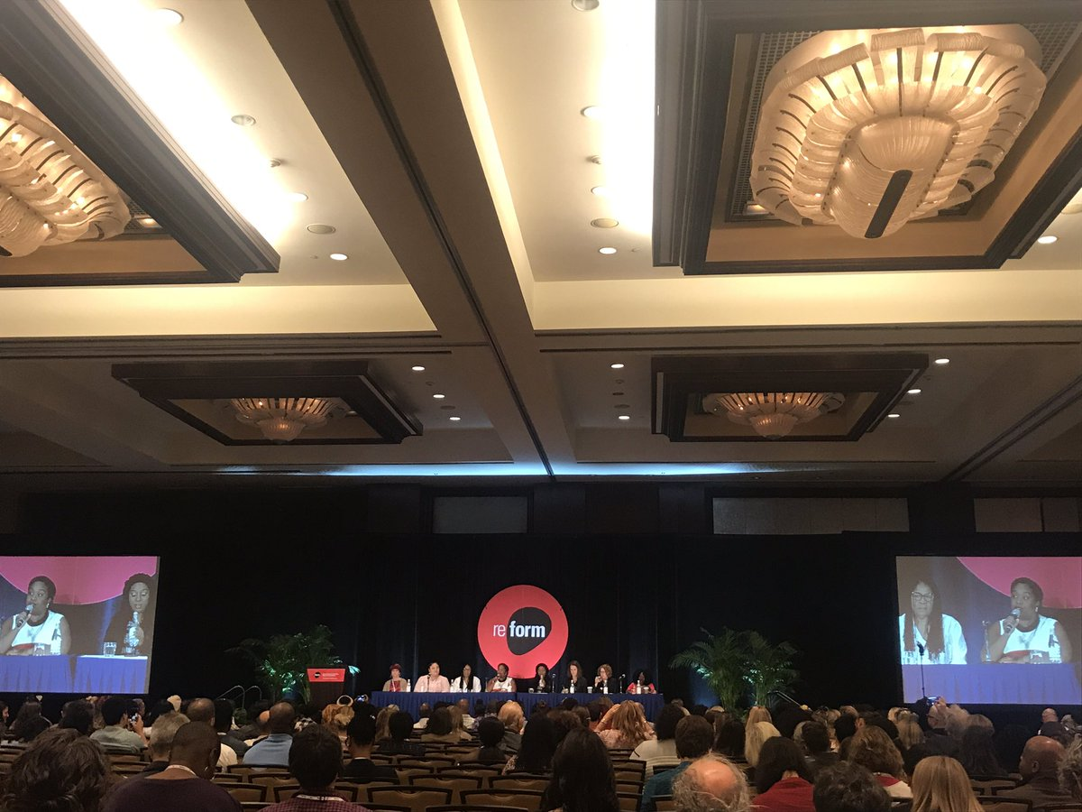 First EVER all woman plenary about the war in drugs, and how this war affect woman.  Such a powerful and intense moment! #reform17 <br>http://pic.twitter.com/7Uif3ktKID