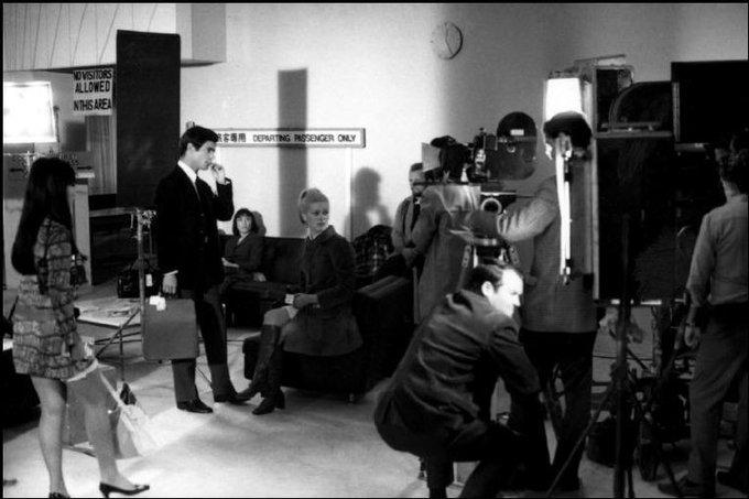 Happy birthday Sami Frey! With Catherine Deneuve on the set of Manon 70 Raymond Depardon, 1967
