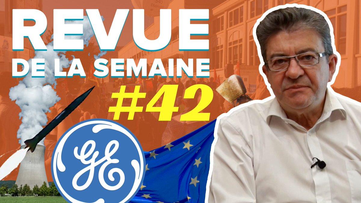 La #RDLS42 est en ligne ! Les thèmes : 1️⃣ General Electric 2️⃣ Drapeau européen 3️⃣ Nucléaire civil et militaire ▶️ https://t.co/kRsXAF5fzg
