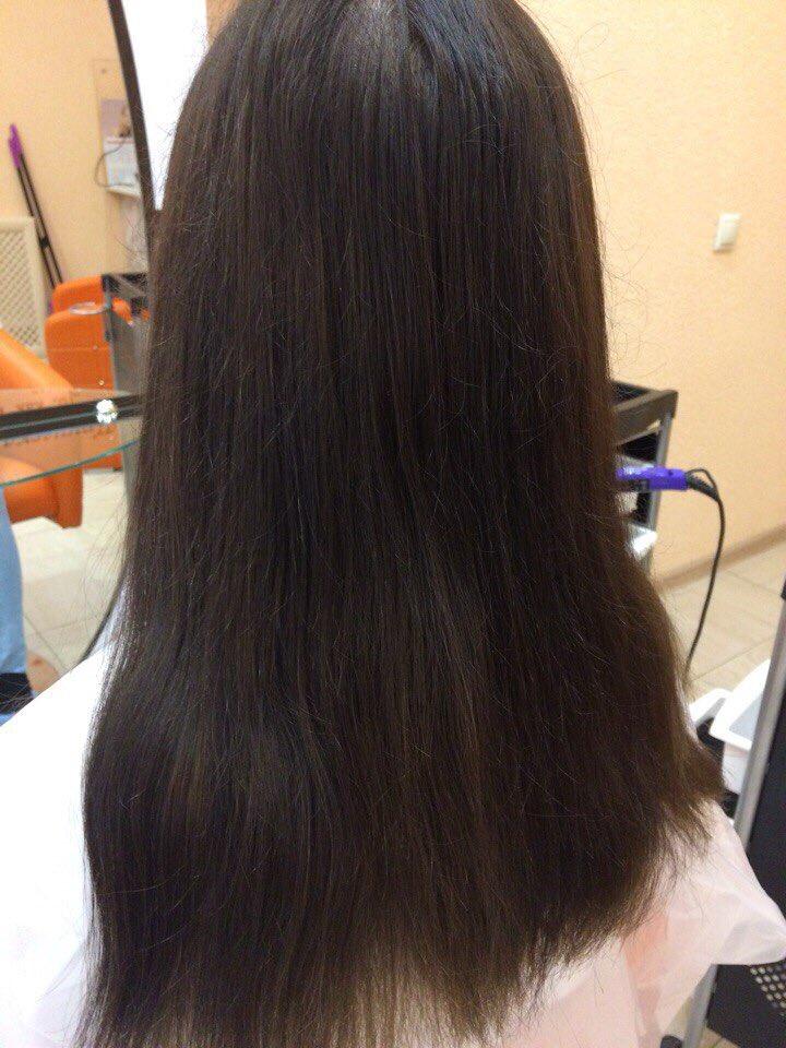 Омбре на мелированные волосы фото