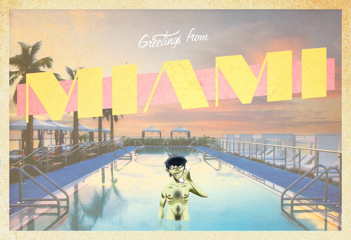 Gorillaz on twitter greetings from miami florida gorillaz on twitter greetings from miami florida humanzworldtour kristyandbryce Image collections