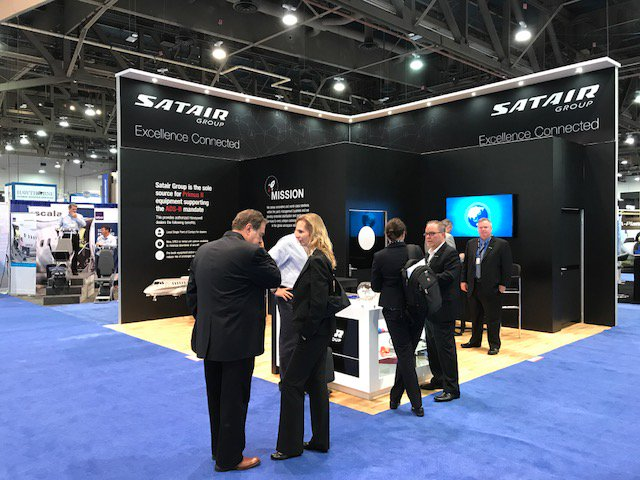 Thank you to everyone who visited the Satair Group booth at the #NBAA17! We hope you had a great show, we sure did! #avgeek #aviation<br>http://pic.twitter.com/RYGMKLzEIU