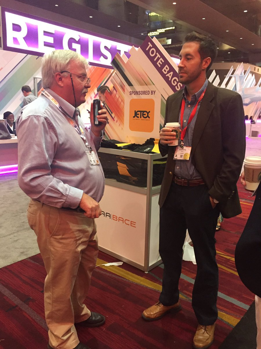 Our very own @scottfirsing being interviewed by @AVweb earlier this week at #NBAA17. Head to  http://www. avweb.com  &nbsp;   to hear the interview!<br>http://pic.twitter.com/SlRnXFBF1d