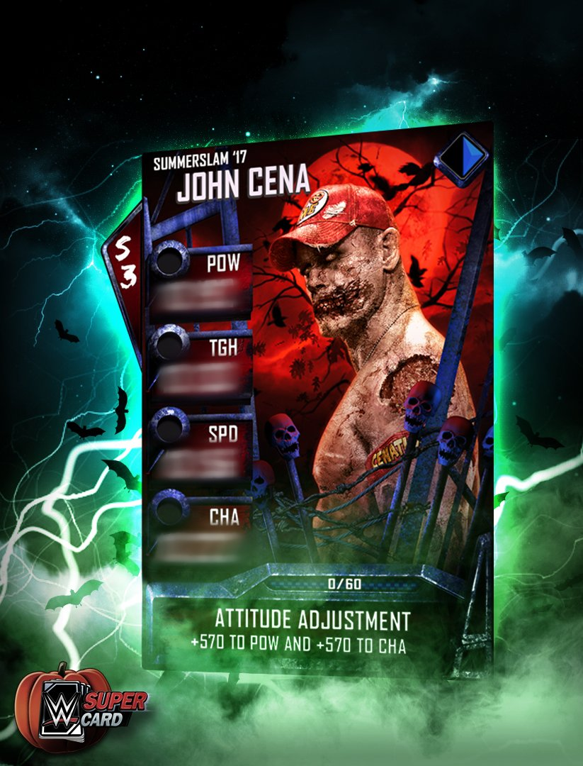WWE Supercard qr code free credits and twitter