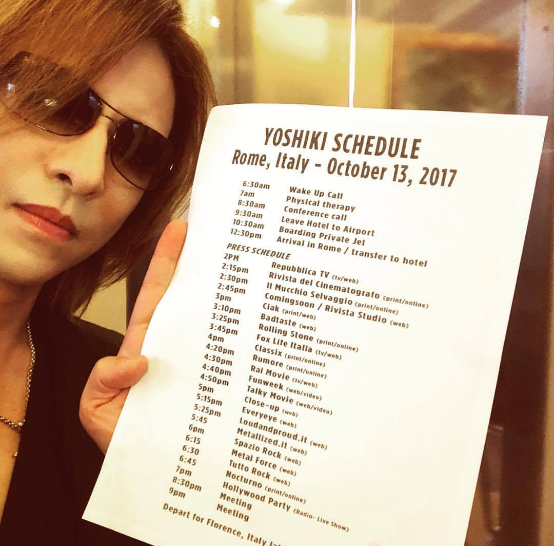 今日の #ローマ でのスケジュール。加速ぎみ。。 I'm in #Rome #Italy today. My schedule didn't slow down. #wearex instagram.com/p/BaMnNB8gNs5/…