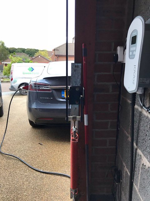 Green World Uk Ltd On Twitter Another 2 Zappi S Installed