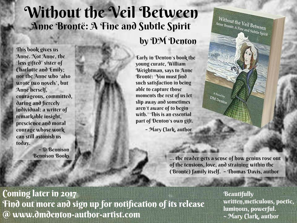 #Upcomingnovel about &quot;other&quot; #Brontë sister, Anne. Follow link for more &amp; chance to win signed copy! #FridayReads  https:// booklaunch.io/dmdenton/witho utheveilbetween &nbsp; … <br>http://pic.twitter.com/9COBXTvjsv