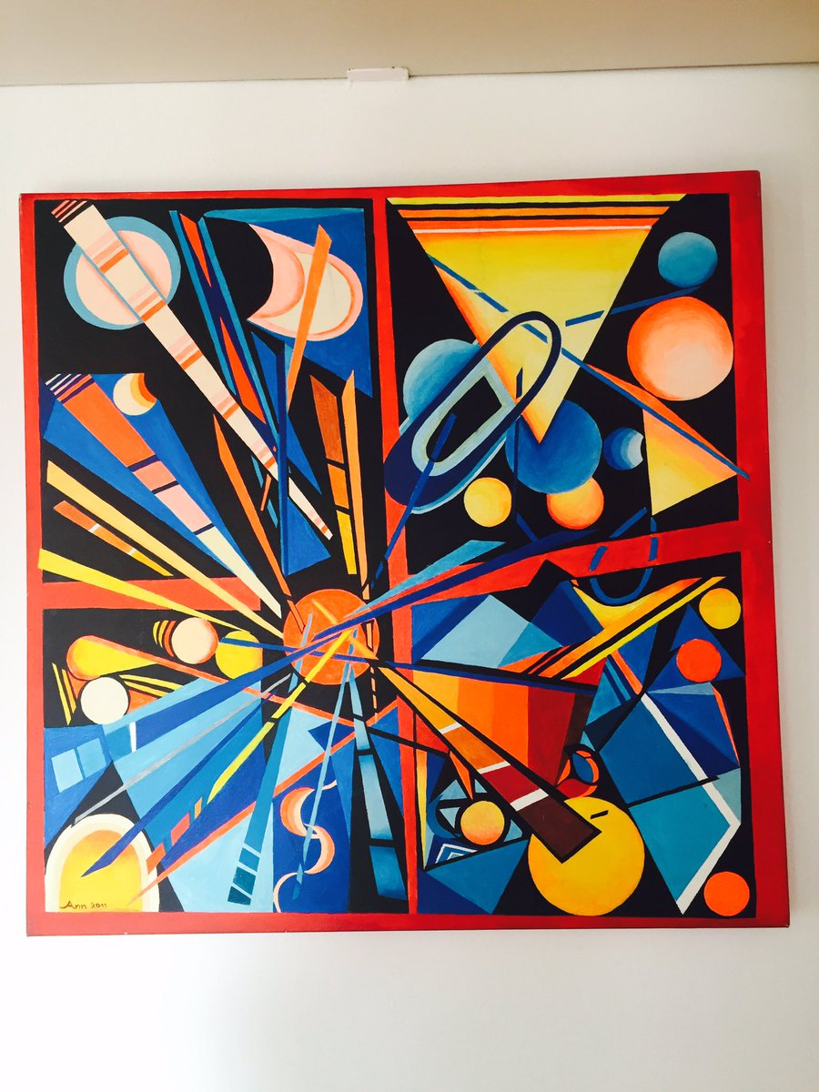UNIVERSOacrylic on canvas cm 70 x70 #art #contemporaryart #abstractart #psychedelicart #modernart #acrylicpainting #ArtBasel #artcollect<br>http://pic.twitter.com/WxYOPVJ8FP