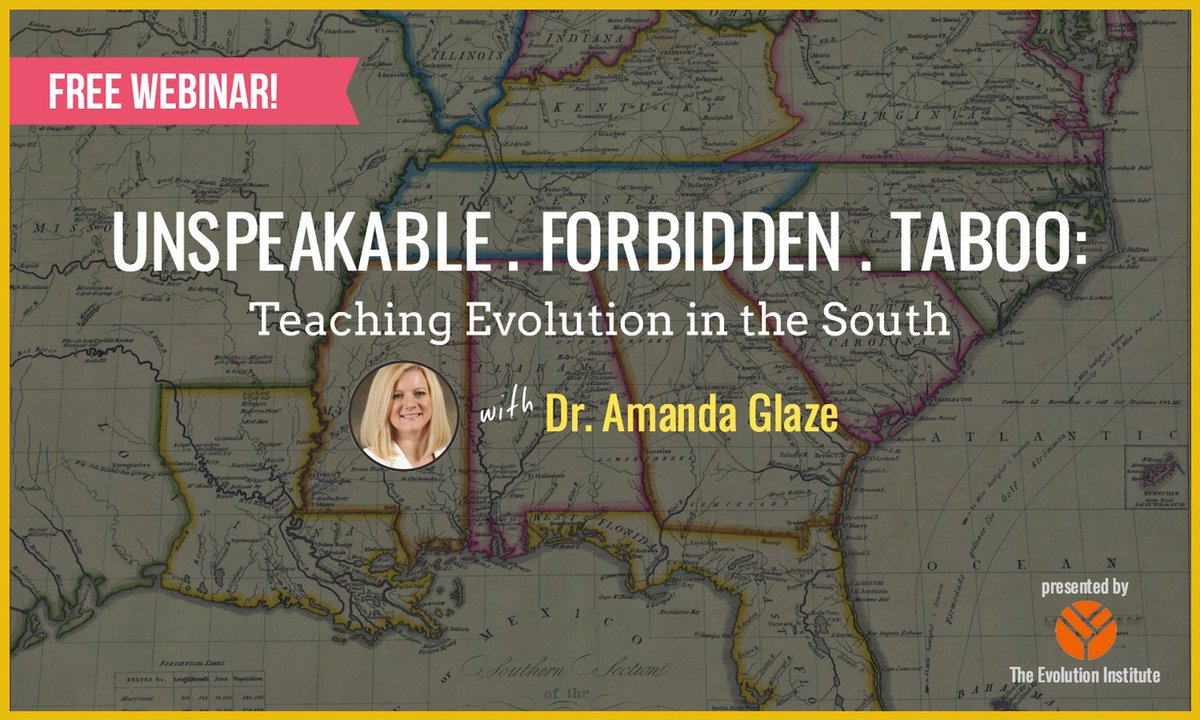 In the South, #evolution represents a true taboo. @EvoPhD explains how we can address that:  http:// ow.ly/lLae30fNttb  &nbsp;  <br>http://pic.twitter.com/RNDzCcmNXg