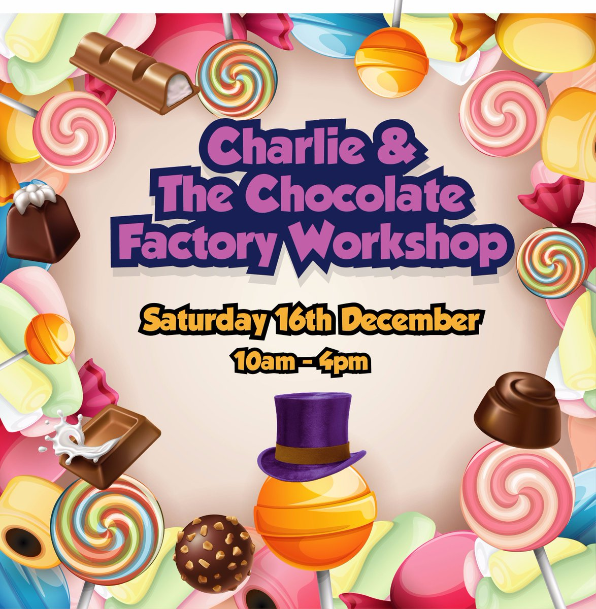 @StageCoachHove fab Charlie &amp; The Chocolate Factory workshop on 16th Dec. To book &amp; for more info  http://www. stagecoach.co.uk/hove  &nbsp;   #roalddahlday <br>http://pic.twitter.com/scH4ymNKdz