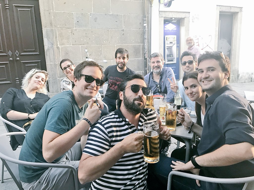 Time to celebrate! See you all next year at #MirrorConf . Cheers! #seegno team. https://t.co/wiI6xb3FUo