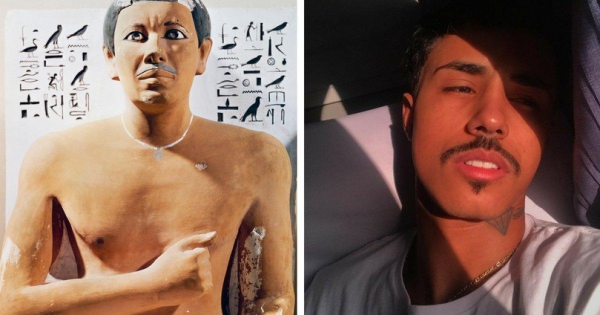 Do Egito antigo a MC Livinho: Desvendamos a história do bigode https://t.co/7sMsM10XvY