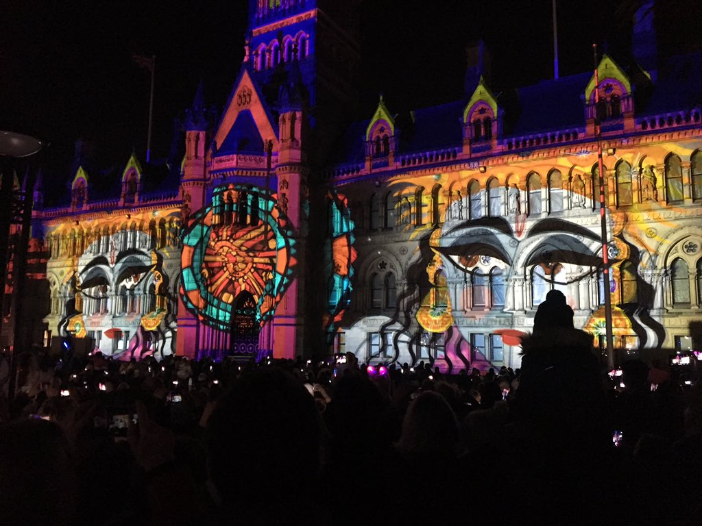 If you were not @CityParkBD to see #theluminarium this is what you missed today #illuminatebradford #lightlife @visitBradford #bradford <br>http://pic.twitter.com/NPSrMGXs2X