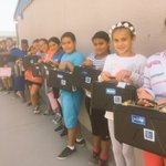 Students at @OrangeGroveACSD super excited to take home instruments! Thanks to @VH1SaveTheMusic @NAMMFoundation @connselmerinc @AnaheimElem