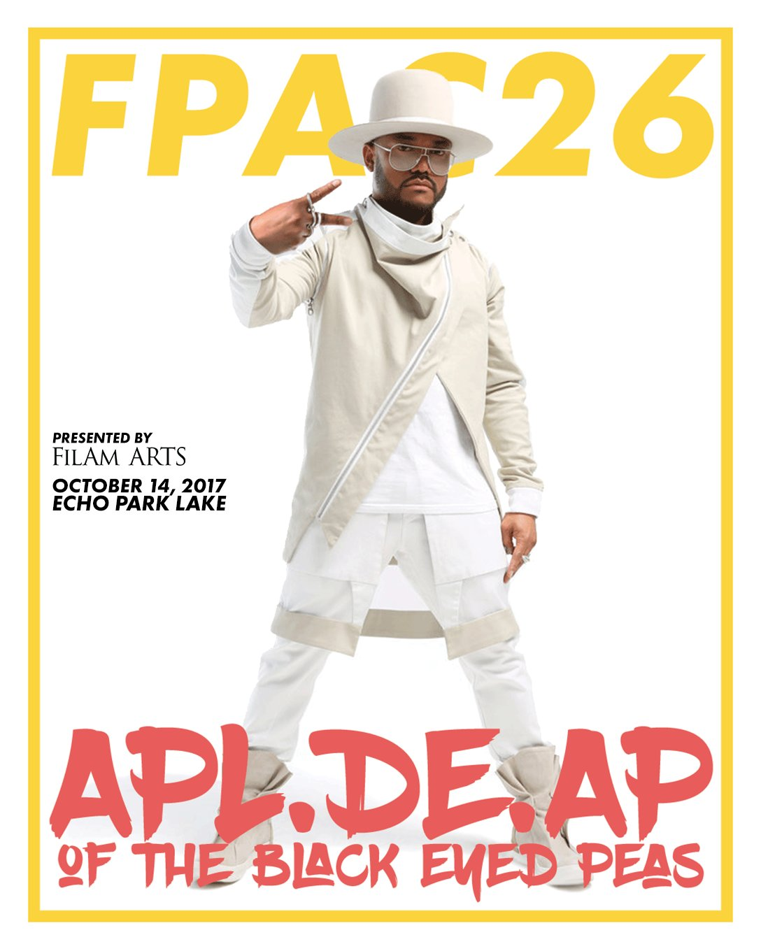 Tomorrow. Our brother @apldeap headlines @FilAmARTS. #FPAC26 Visit https://t.co/s3jZxgZ24b for more info. https://t.co/UB6wuzttj2