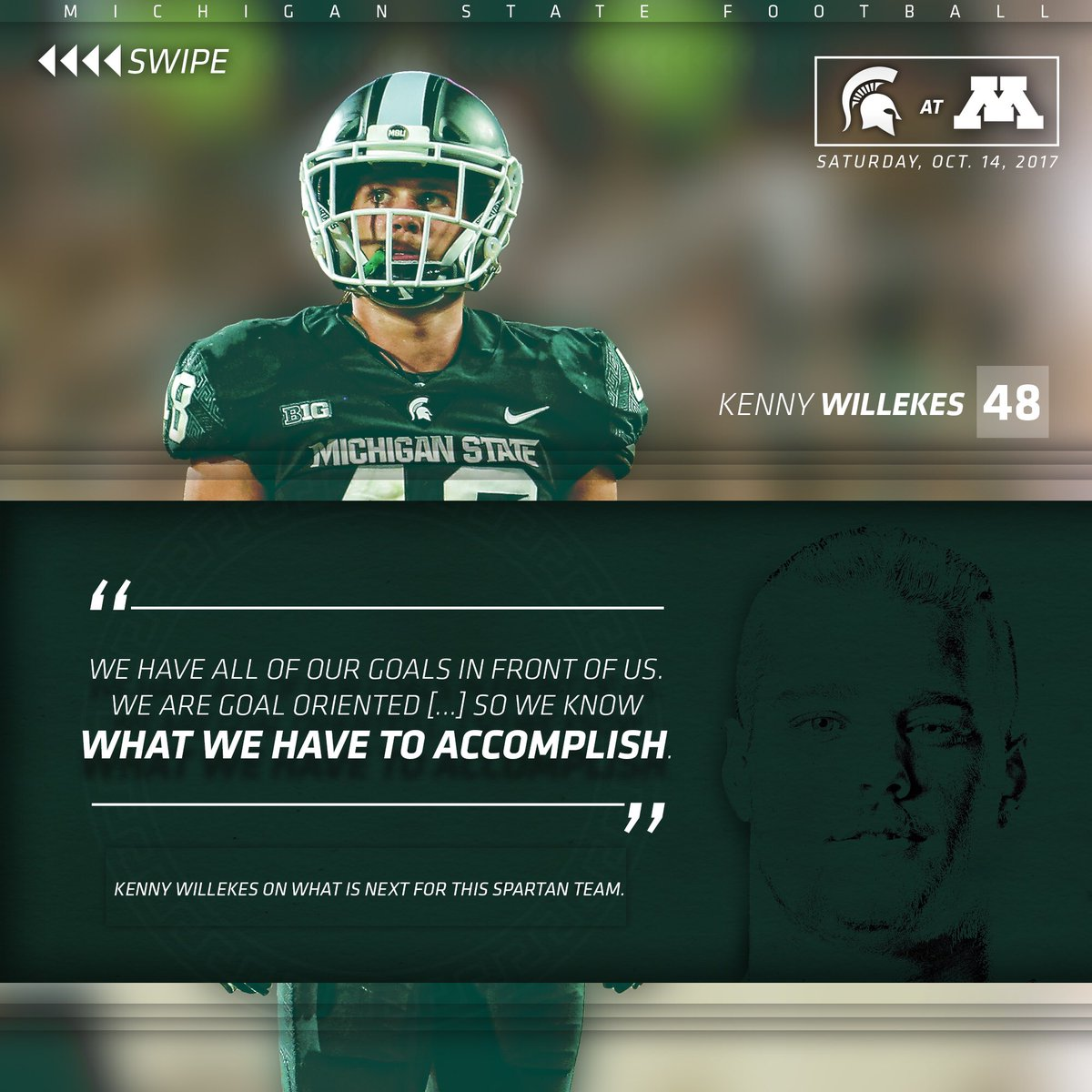 Michigan State Football On Twitter Quotes From This Week