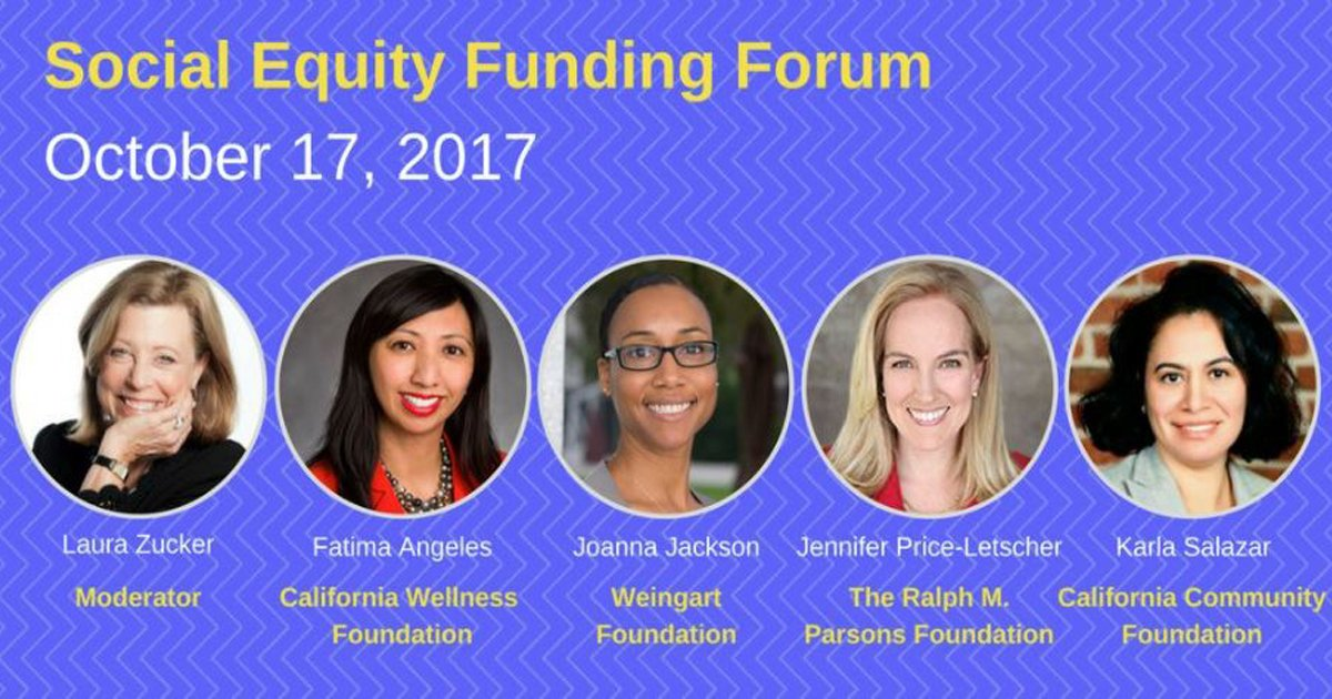 What&#39;s ahead in #SocialEquity funding? Join local #philanthropic leaders next week to find out. Register here:  http:// bit.ly/2wEajhr  &nbsp;   #LA<br>http://pic.twitter.com/9ssOxtp32B
