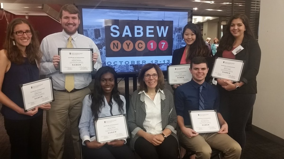 Congrats to the Cox-SABEW Fellows of @UGAGrady at #SABEWNYC17 And introducing  @geewaxnpr as the #CoxInst Industry Fellow for Spring18<br>http://pic.twitter.com/SQJMAtkbeE