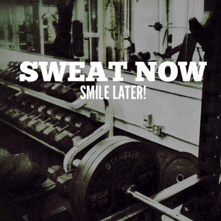 Sweat now / Smile later! :)  #BuenViernes #SeguimeYTeSigo #MotivationGym #LaCosta  #ViernesDeGanarSeguidores  <br>http://pic.twitter.com/23BjRtmv82