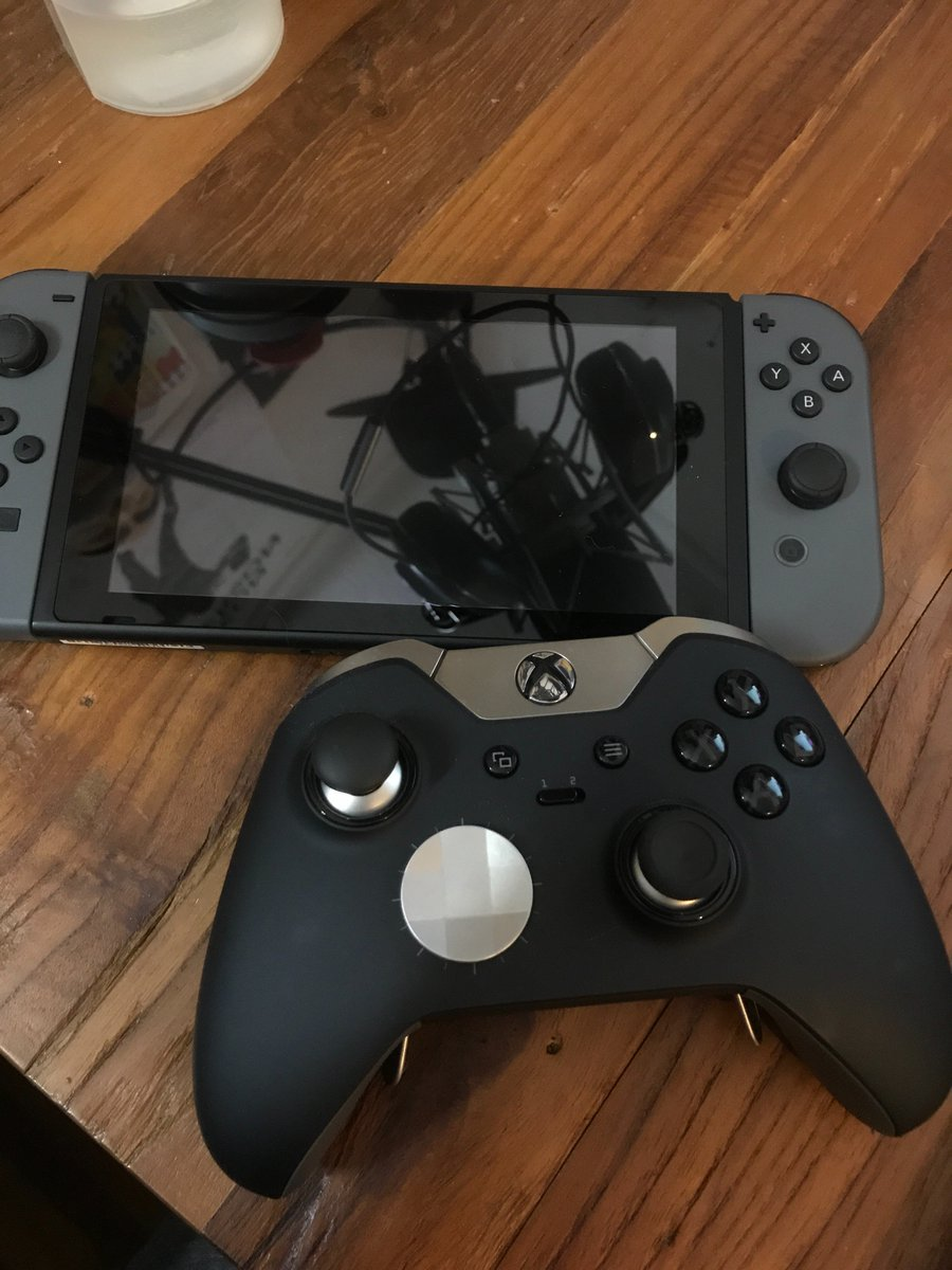 S On Twitter Is There Any Way To Make This Work 5 Switch Joystick Without An Adapter Via Wireless Connection Nintendo Xbox One Elite Controller Https Tco 4hwr2ddrzw