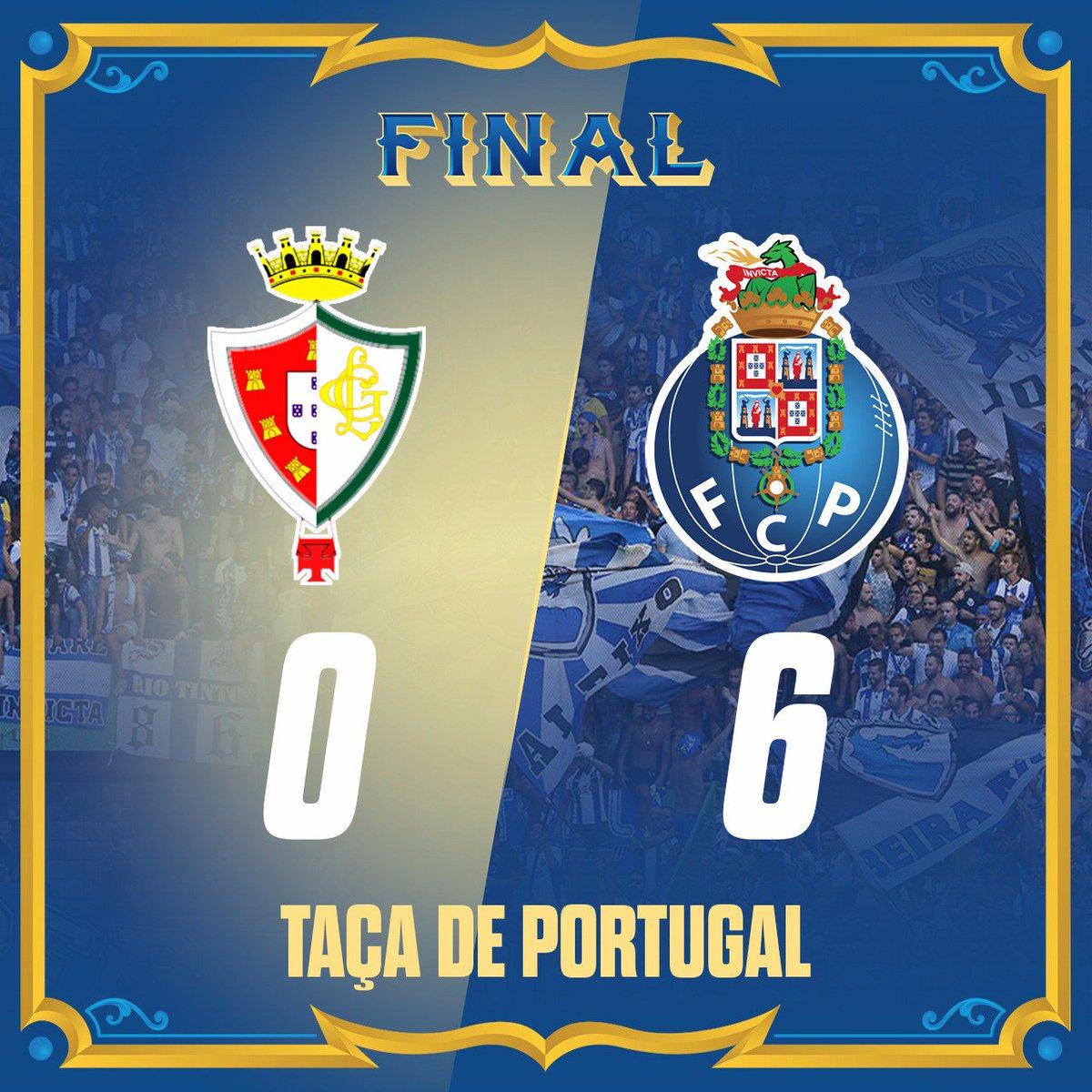 Final de Jogo / End of the match   20' Aboubakar ⚽ 21' Aboubakar ⚽ 49' Marcano ⚽ 55' Otávio ⚽ 59' Galeno ⚽ 90' Hernâni ⚽  #FCPorto #LGCFCP