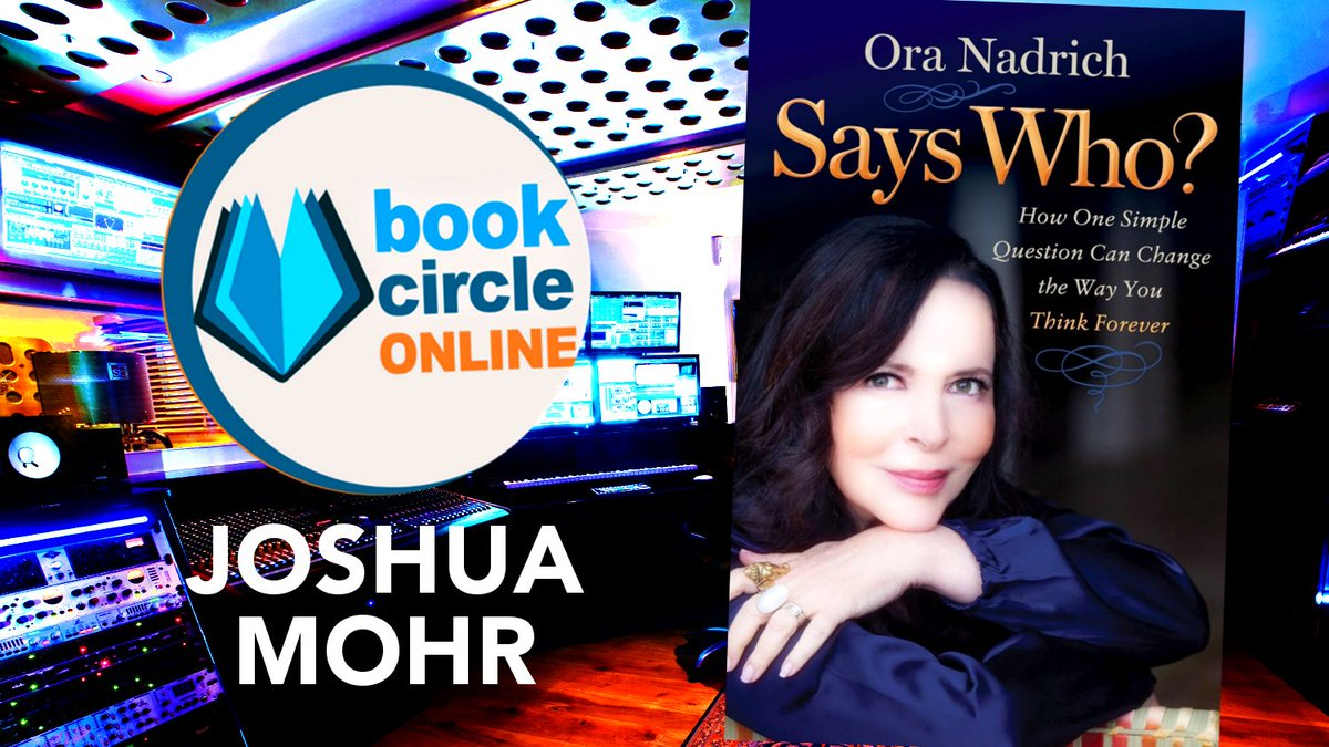 Says Who? How One Question Can Change Your Life Forever with Ora Nadrich  https://www. youtube.com/watch?v=t3ZaYG 0sTBM &nbsp; …  @OraNadrich @tiegedp #fridayreads <br>http://pic.twitter.com/c8nnp6FplD