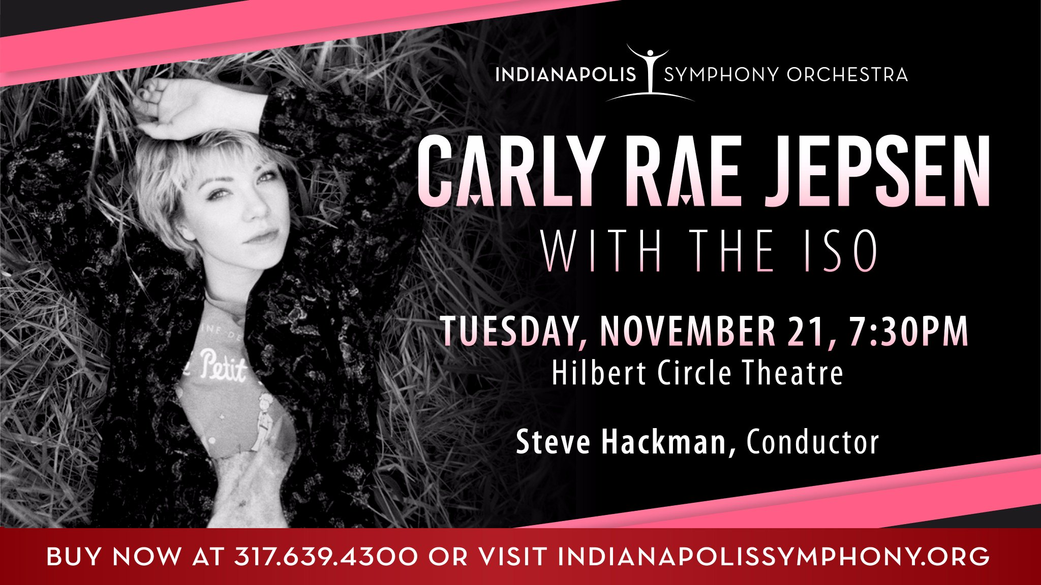 Bday haps with the Indiana Symphony Orchestra Nov 21st!! �� Tickets: https://t.co/fIHfpOleA6 https://t.co/9OFhkcxV9n