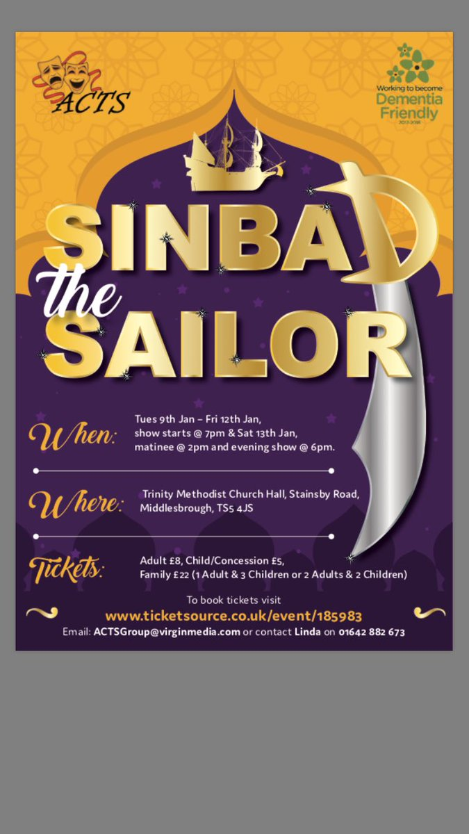 Our upcoming pantomime. All money raised goes to local charities and are Dementia Friendly #dementiafriendly #raisingmoney #goodcauses<br>http://pic.twitter.com/Gno4Yw8OP6