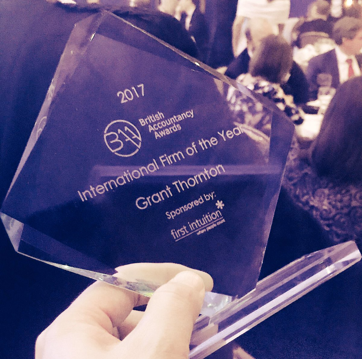 Successful evening at the #BAAwards with the firm winning International Firm of the Year. Well done team! https://t.co/OVADX5lBBM