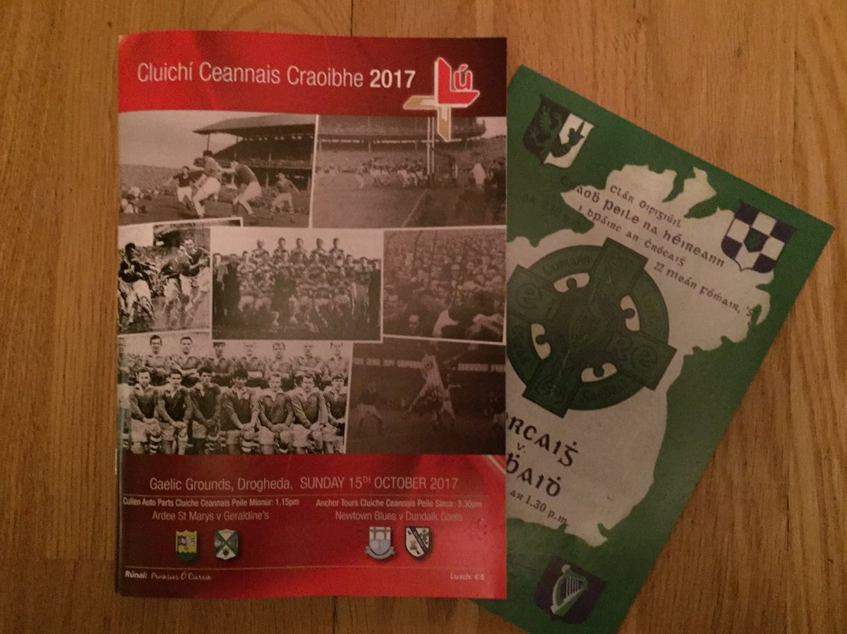 Louth GAA On Twitter Senior Minor Football Championship Final Program All Ready For Sunday Includes A Copy Of The 1957 Ireland