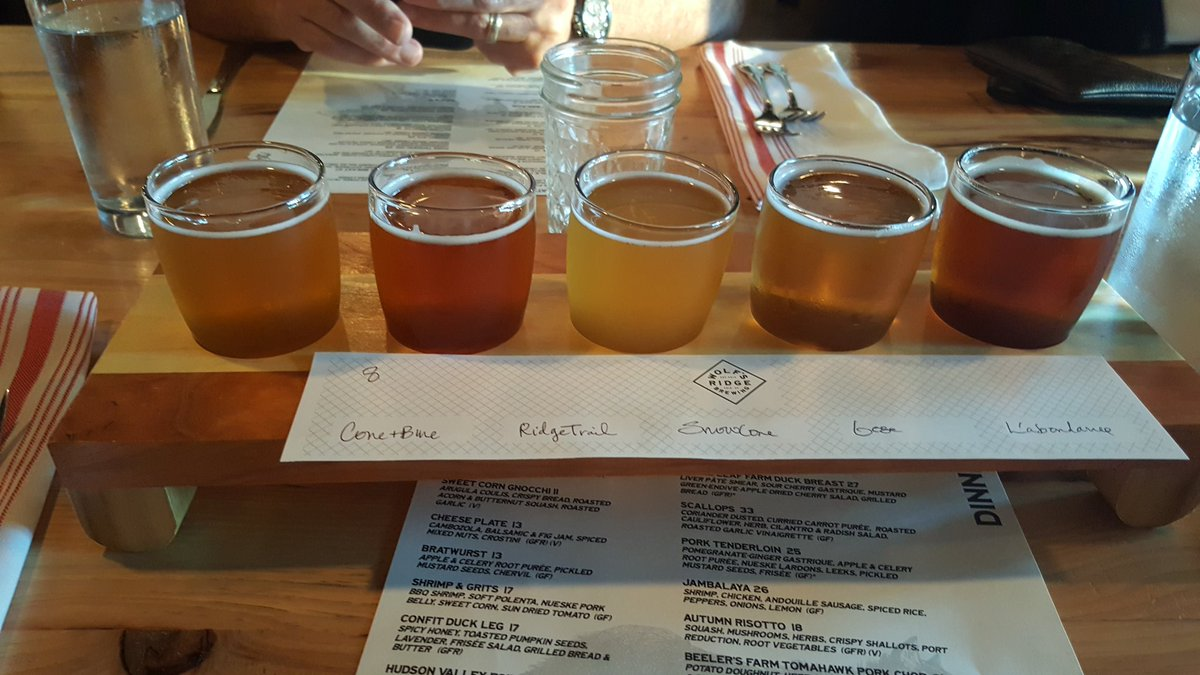 Tasting the flight @WolfsRidgeBrew in #Columbus OH for #HAPS #midyear mtg<br>http://pic.twitter.com/UemwWz0XLZ