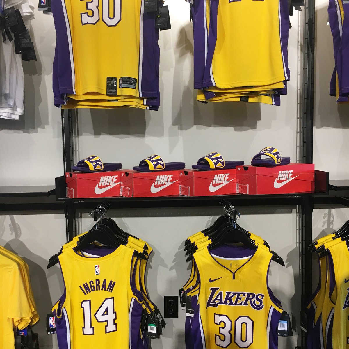 new product 9047c 24d72 Lakers Store on Twitter: