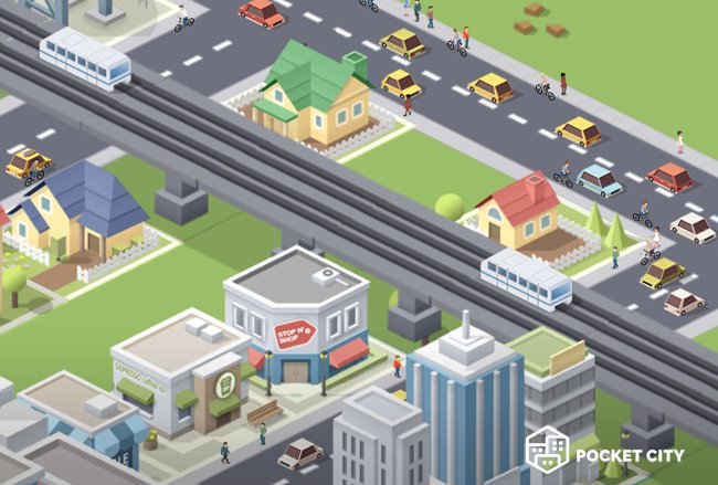 ApkMod1.Com Pocket City v1.1.126 + МOD (full version) download free Android Game Simulation