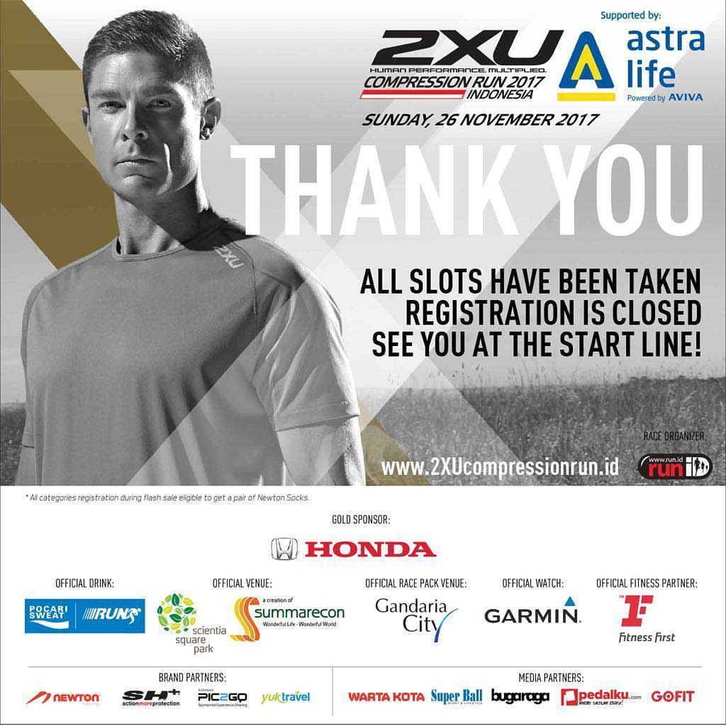 2XU Compression Run Indonesia • 2017