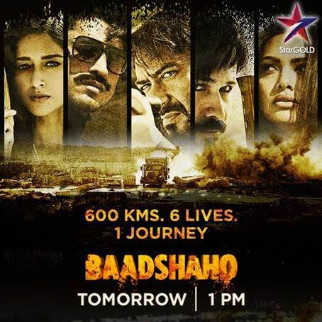 This army officer never leaves his tasks undone.Will that change this time? Watch #BaadshahoOnStarGold, kal 1 PM. @ajaydevgn @StarGoldIndia https://t.co/vRBi9Mu1nG