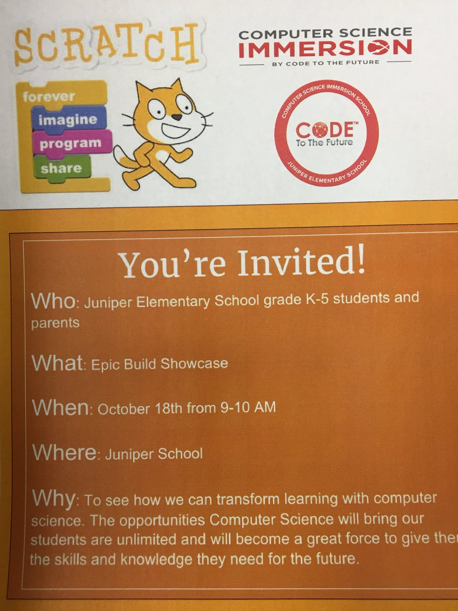 Epic Build Showcase is almost here and we are super excited! Juniper Jaguar coders are ready to show their stuff!#excellenceforall