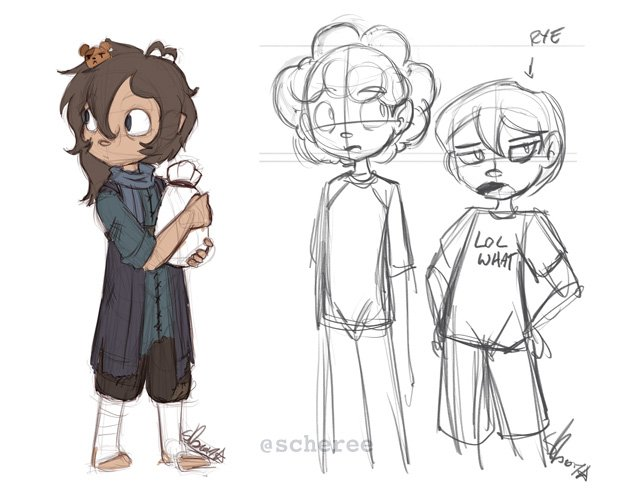 Some doodles of my children from today&#39;s stream :) #art #sketch <br>http://pic.twitter.com/120z9c9YuX