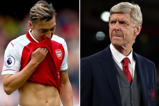 5c1d76050 Arsenal boss Arsene Wenger growing increasingly frustrated with Mesut Ozil  as contract stalemate drags on