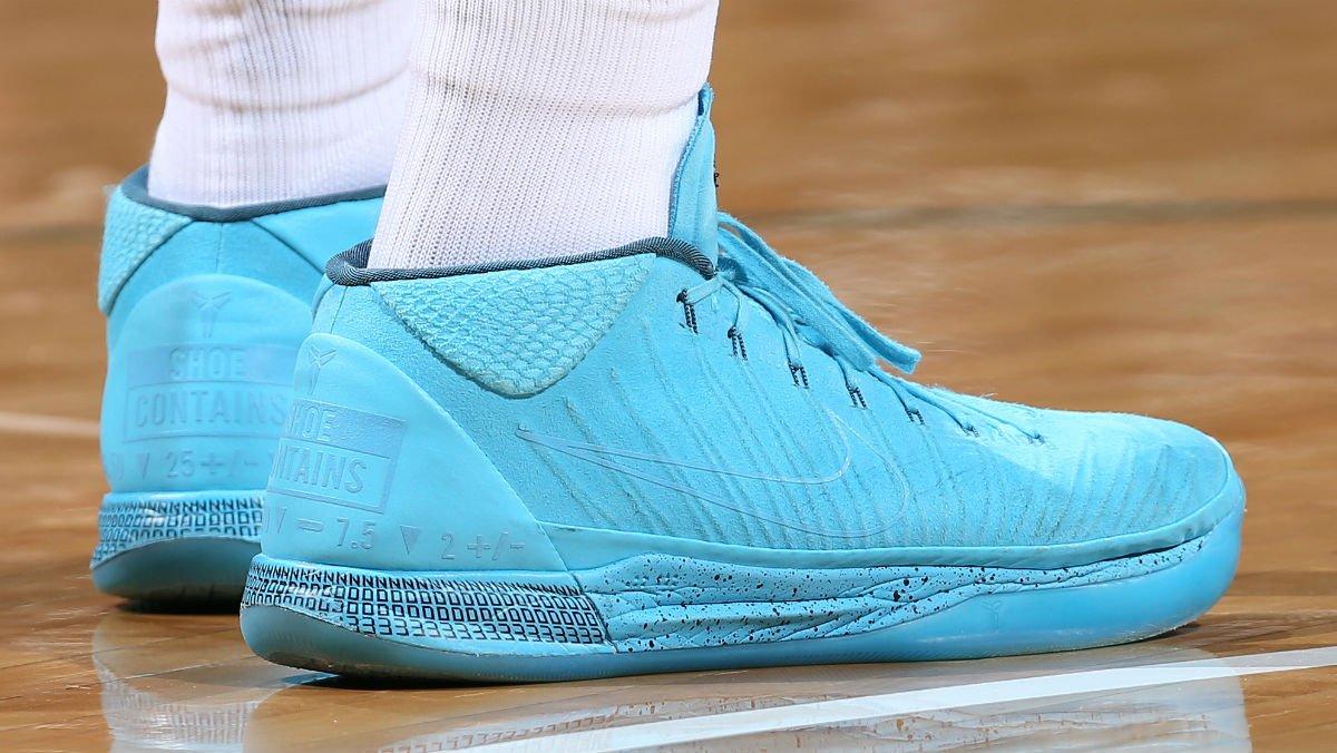 04e569bb622b SoleWatch GiannisAn34 wearing the Honesty Nike Kobe A.D. Mid Mamba Mentality  ...
