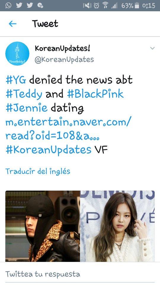 YG Teddy dating