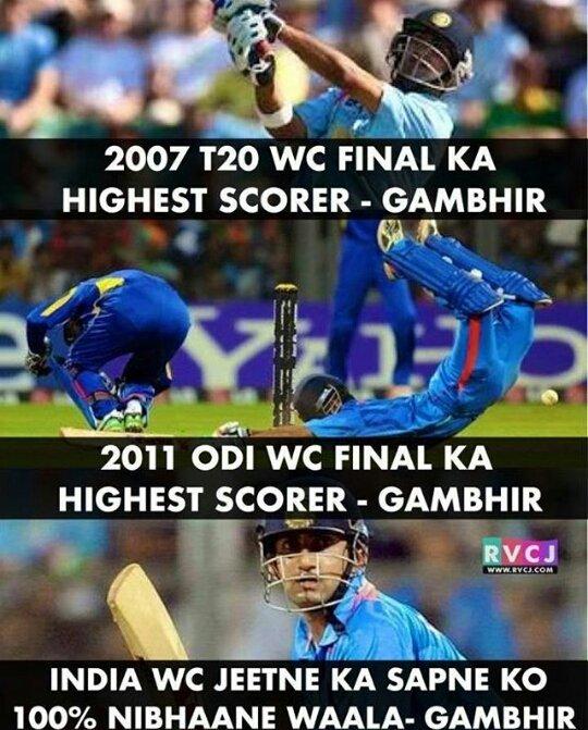 True Man ! Hate the politics in the association !Hes the true #Sportsman n #Better than most of the recent player ! Hbd @GautamGambhir _Sir<br>http://pic.twitter.com/KluEJRI0nL