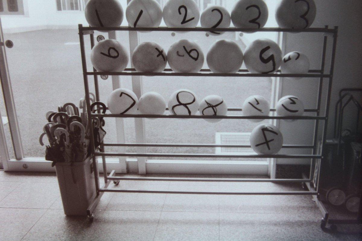 ボール #GR1 #FOMAPAN100 #自家現像