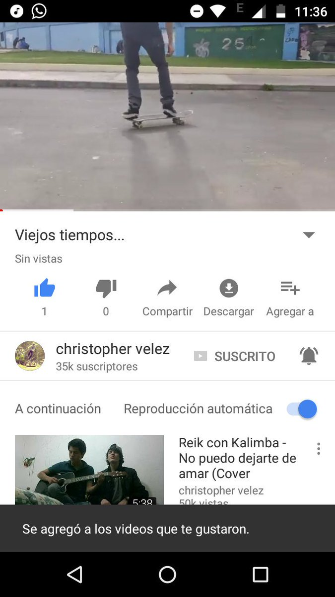 Chris volvió a YouTube :\') ❤