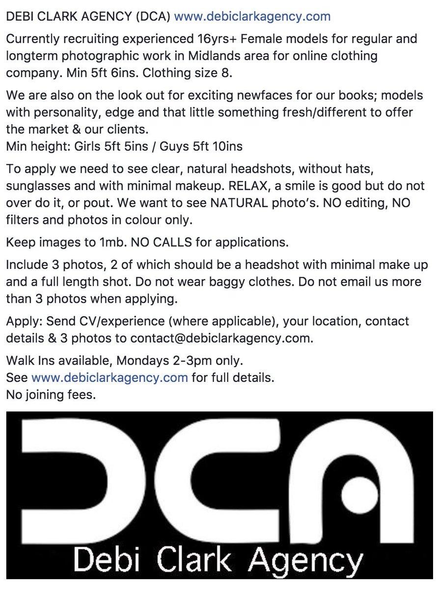 http://www. debiclarkagency.com  &nbsp;   @DebiClarkAgent #Opportunity #Newface #modelling #model #Modeling #fashion  Please #RETWEEET #RetweeetPlease x<br>http://pic.twitter.com/evbWpw8iso