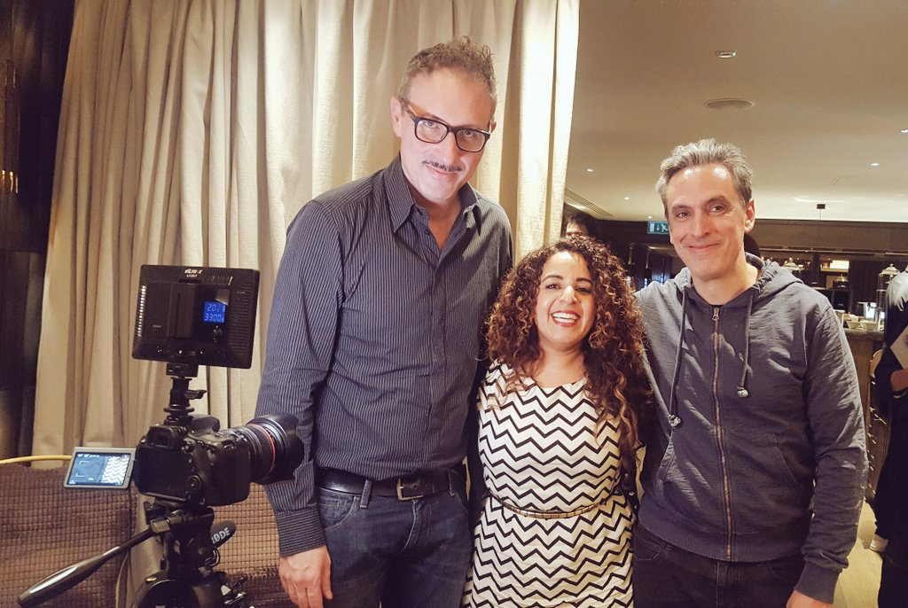 More Talented Filmmakers yesterday #interviews @arshadfilms #ABU  @EraseForget #scicilianghoststory #araby #becomingwhoiwas #downsizing<br>http://pic.twitter.com/Fx8AwwkyFF